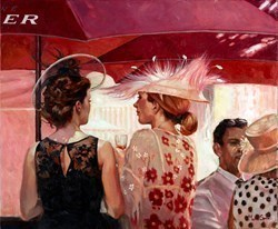 Pink Champagne by Mark Spain -  sized 24x20 inches. Available from Whitewall Galleries